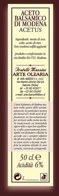 acetus aceto balsamico